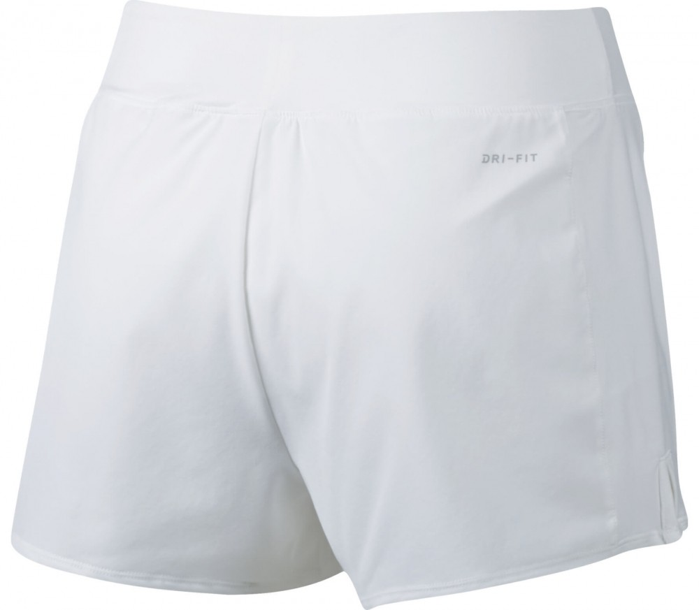 Nike - Court Flex Pure women's tennis shorts (white/black)