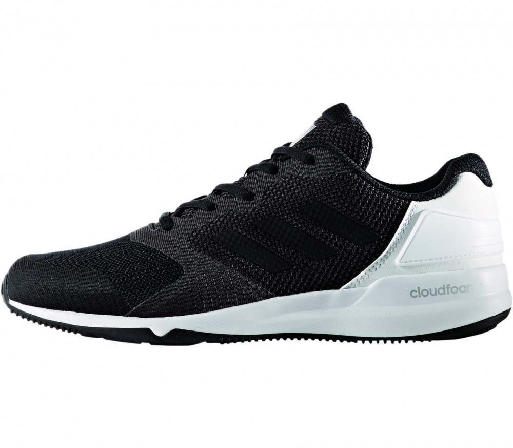 adidas cloudfoam black white