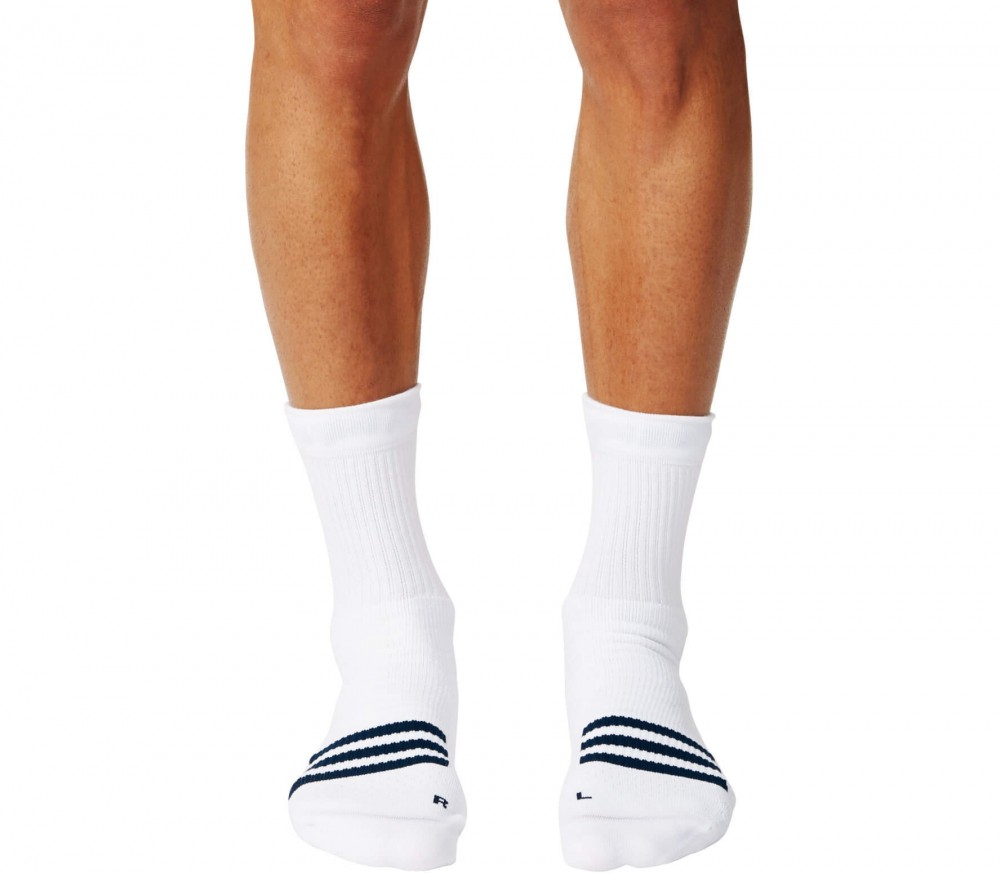 Adidas - ID Crew tennis socks (white/black)