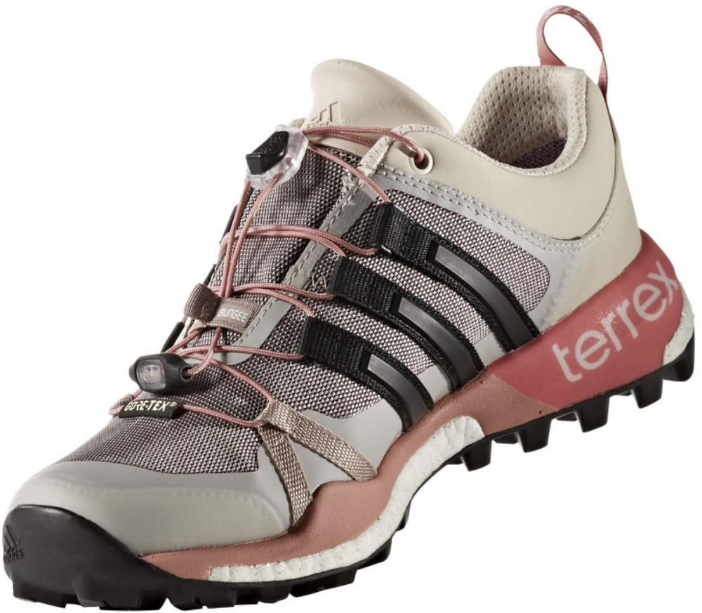 adidas terrex skychaser gtx women 39 s hiking shoes grey pink buy it at the keller sports. Black Bedroom Furniture Sets. Home Design Ideas