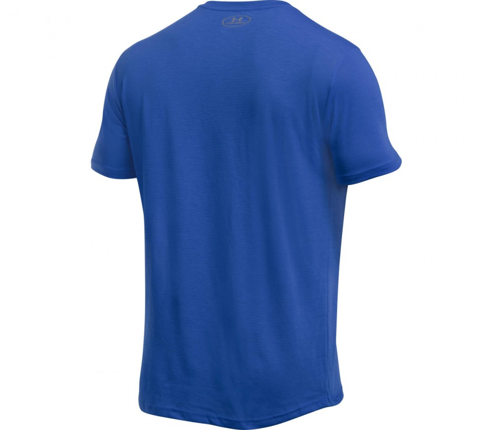 Under Armour - Streaker V-Neck men's running top (blue)
