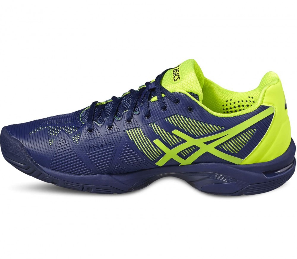 Asics - Gel-Solution Speed 3 men's tennis shoes (blue-yellow)