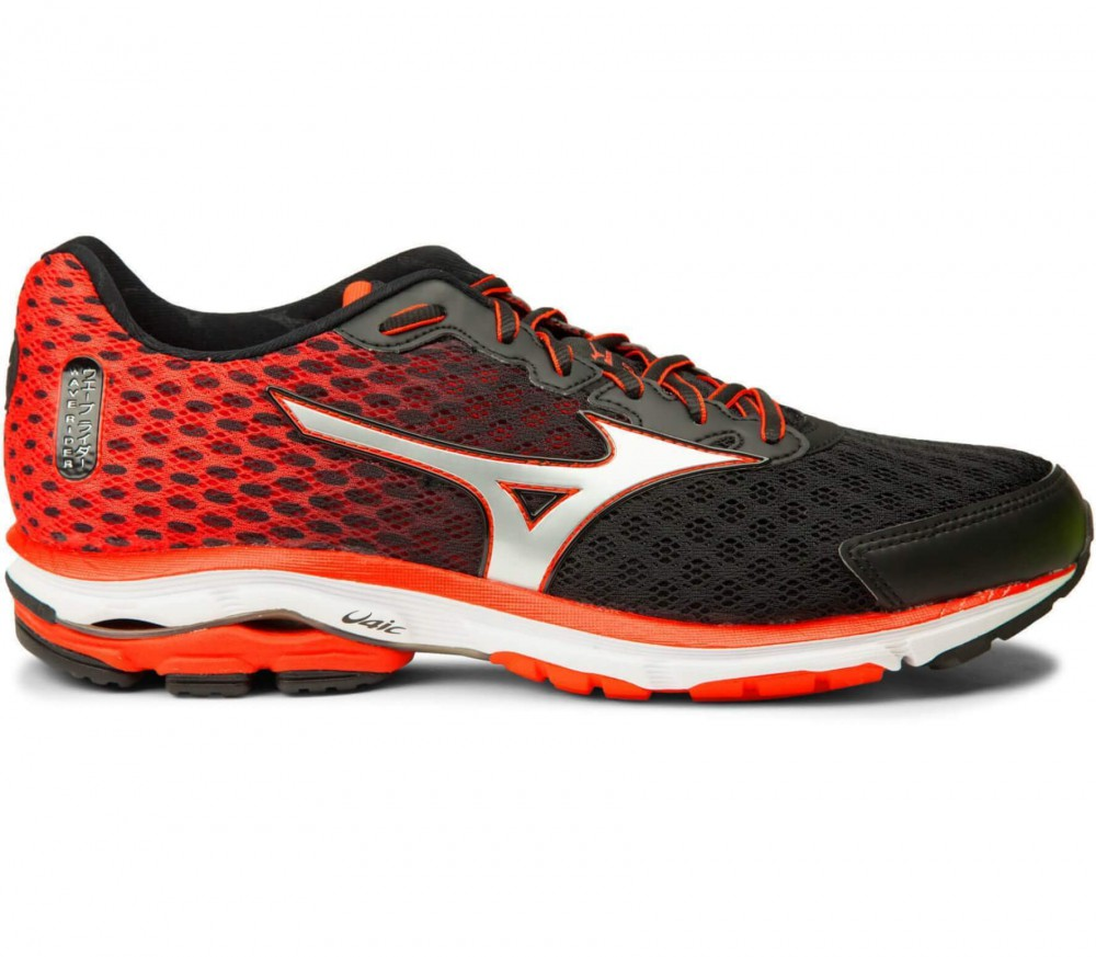 timeless design dab7e 175b0 mizuno wave rider 18 red