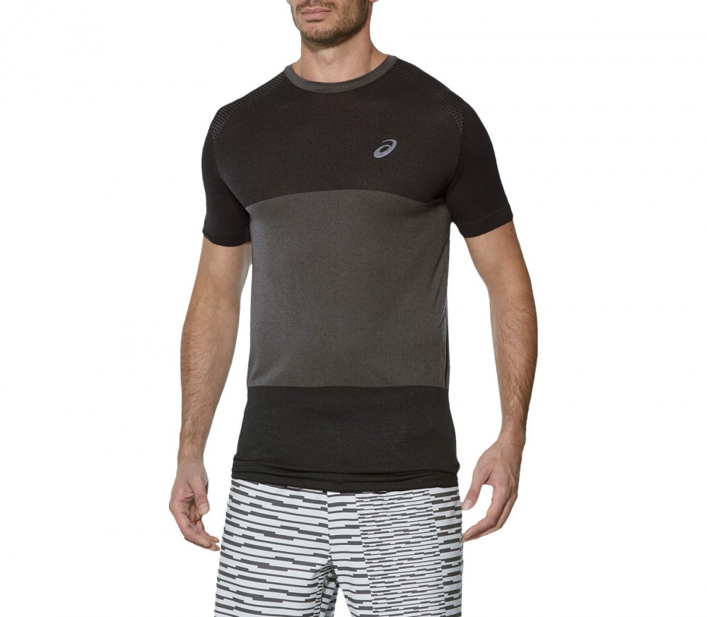 Asics - fuzeX Seamless Shortsleeve men's running top (grey)
