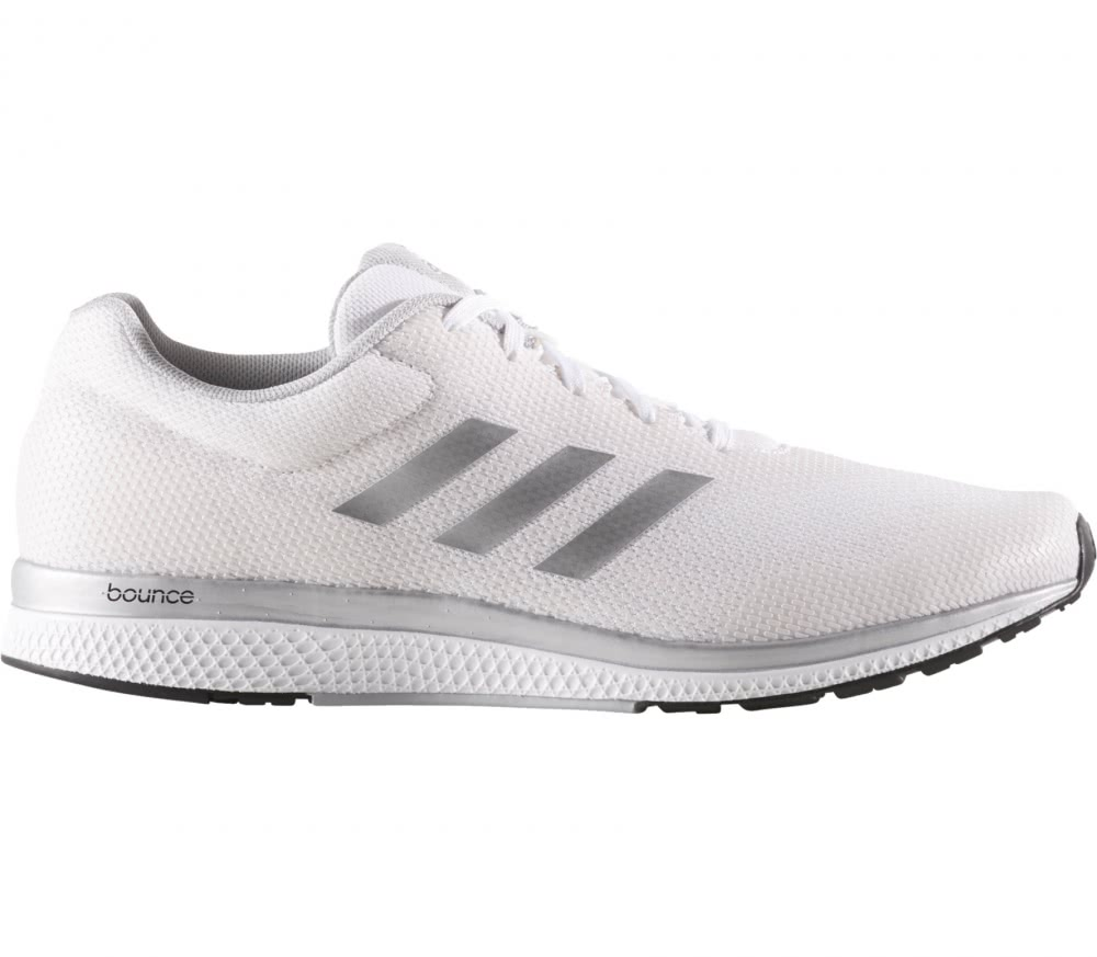 Adidas - Mana Bounce 2 Aramis men\u0027s running shoes (white/silver)