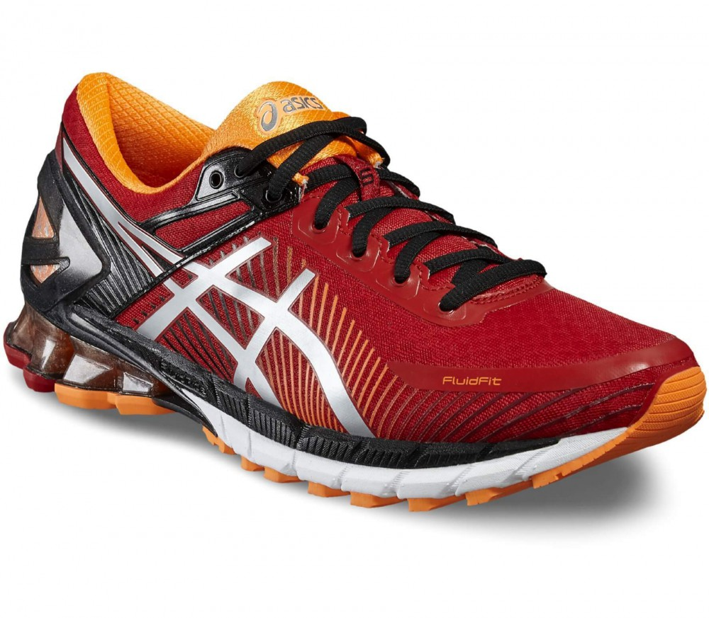 Asics - Gel-Kinsei 6 men's running shoes (dark red/black)