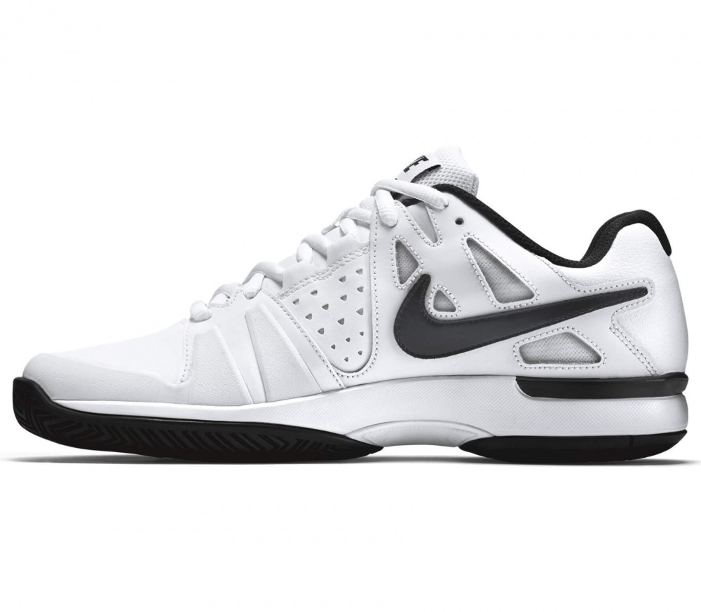 Nike - Air Vapor Advantage Leather children's tennis shoes (white/black)