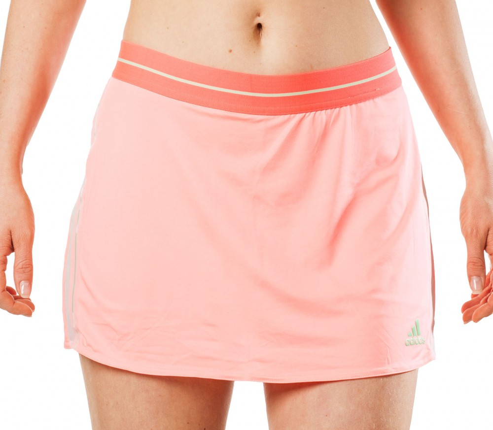 Adidas - Adizero women's tennis skirt (red/green)