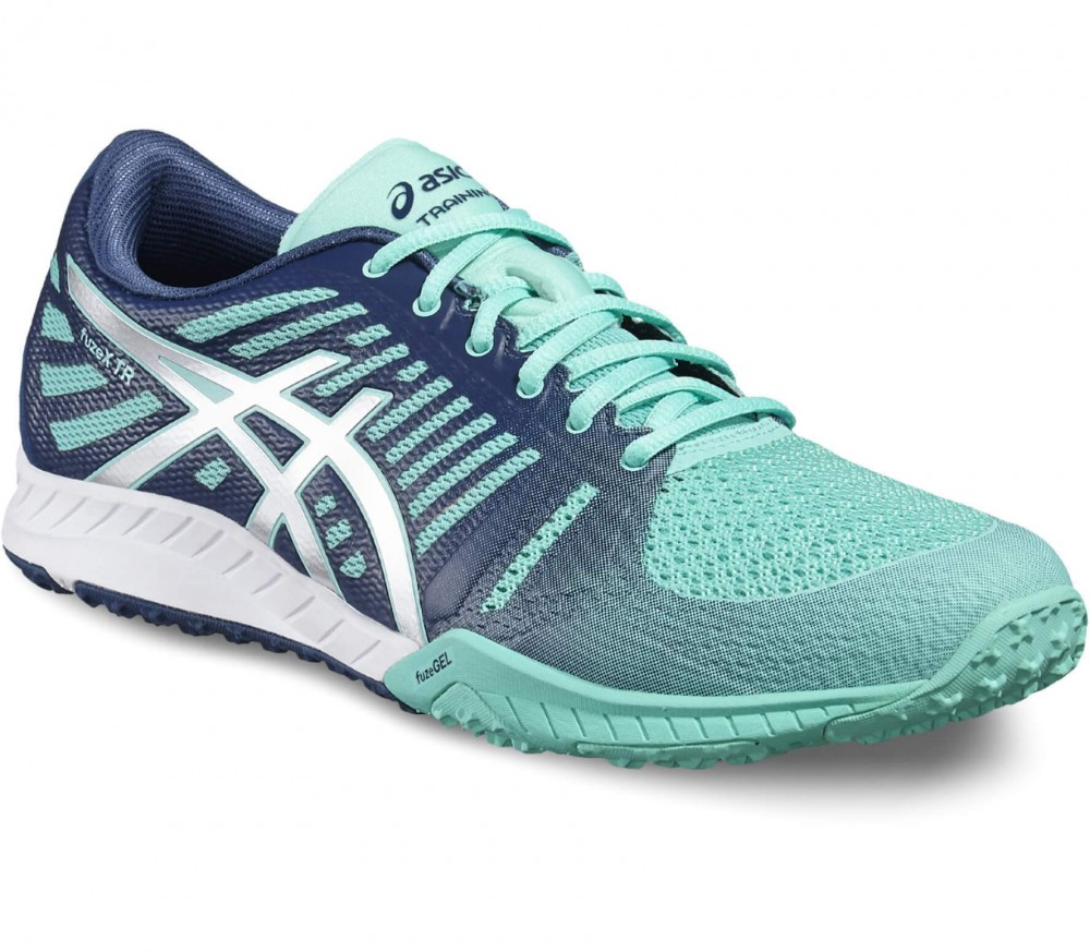 Asics - fuzeX TR women's training shoes (turquoise/grey)