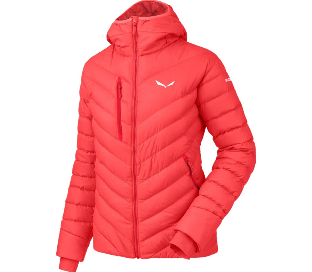 Salewa - Ortles Medium women's down jacket (red) - buy it at the ...