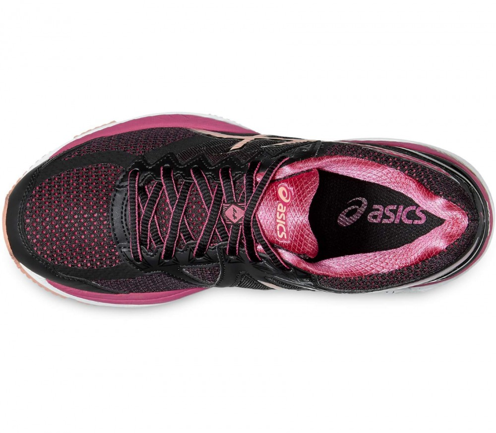 Asics - GT-2000 4 women's running shoes (black/pink)