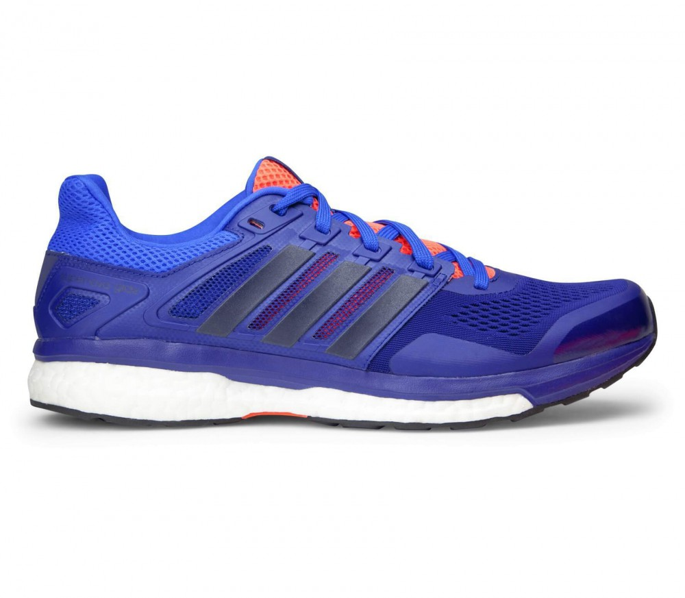 Adidas - Supernova Glide 8 men's running shoes (blue/black)