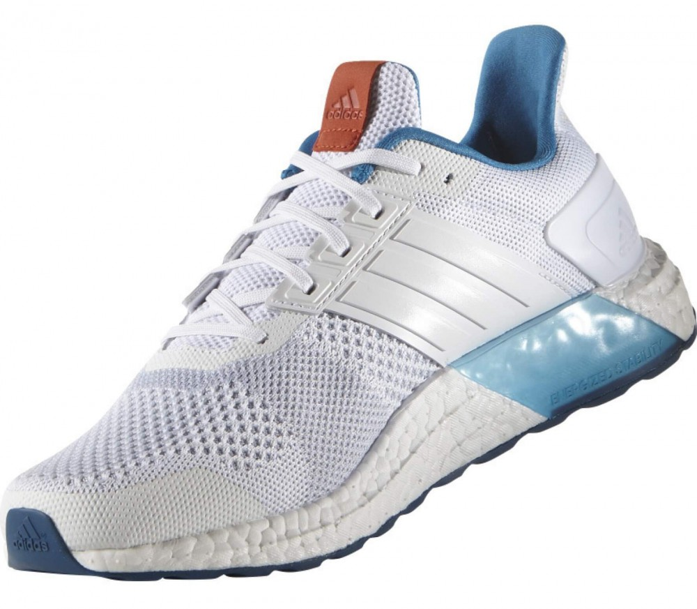 Adidas - Ultra Boost ST men's running shoes (white/blue)