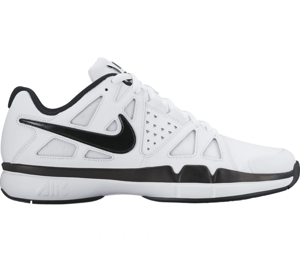 Nike - Air Vapor Advantage Leather men's tennis shoes (white/black)