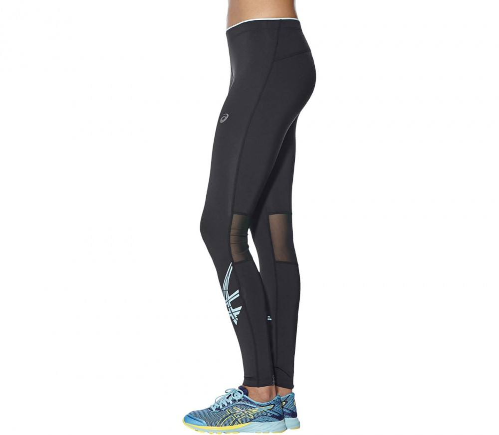 ASICS - Stripe women's running pants (black/white)