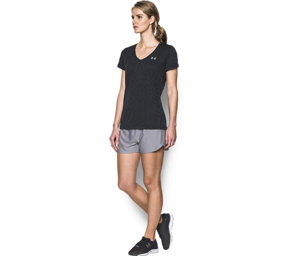 Under Armour - Tech SSV women's training top (black)