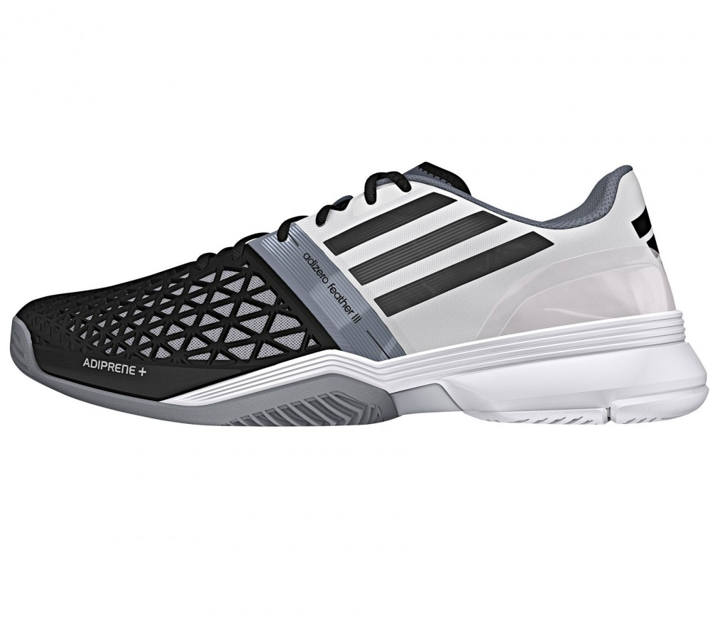 Cc Adizero Feather Iii- Black tennis shoes