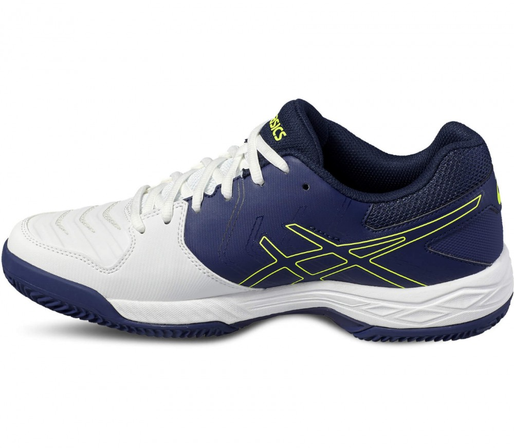 Asics - Gel-Game 6 Clay men's tennis shoes (blue-yellow)