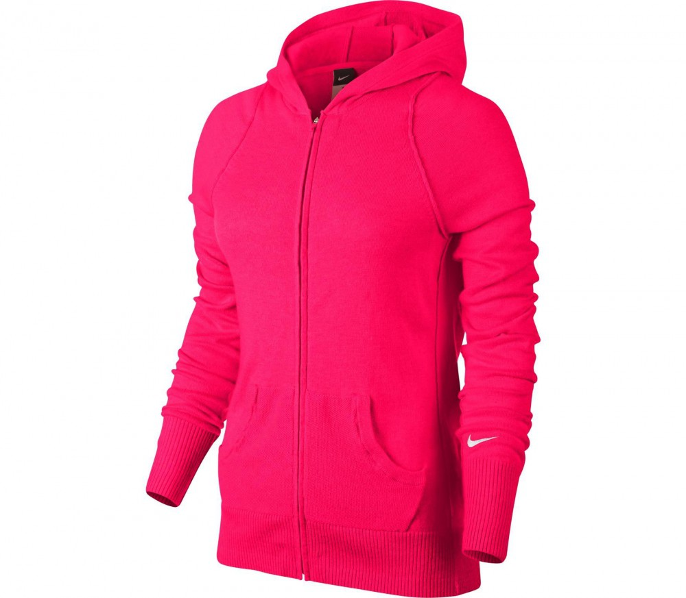 nike knit sweater women 39 s tennis jacket red buy it at the keller sports online shop. Black Bedroom Furniture Sets. Home Design Ideas