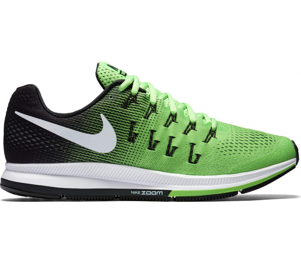 Nike - Air Zoom Pegasus 33 men's running shoes (light yellow/black)