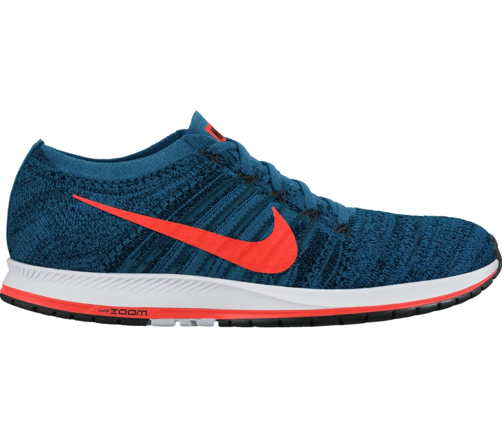 Nike - Zoom Flyknit Streak 6 Racing men's running shoes (blue/orange)