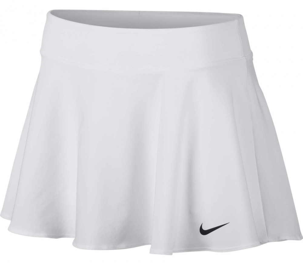 Nike - Court women's tennis skirt (white/black)