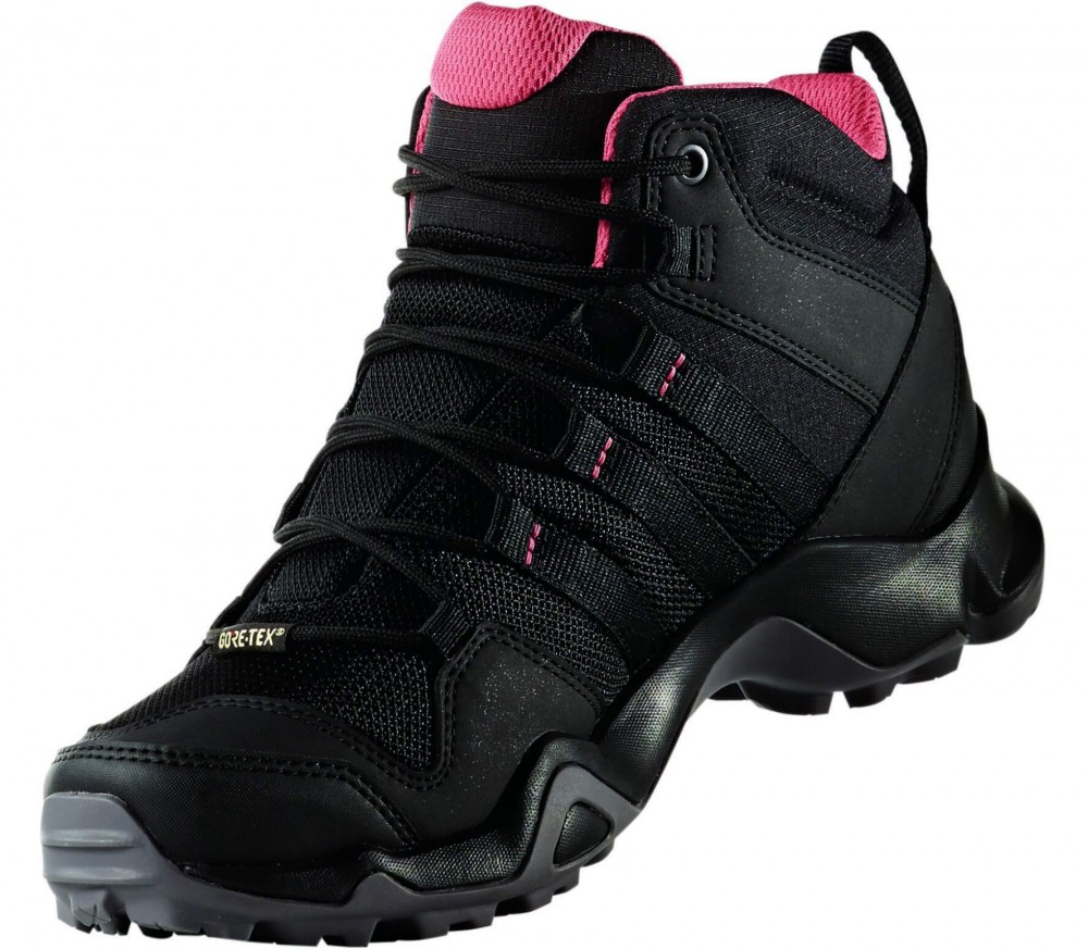 adidas terrex ax2r mid gtx women 39 s hiking shoes black. Black Bedroom Furniture Sets. Home Design Ideas
