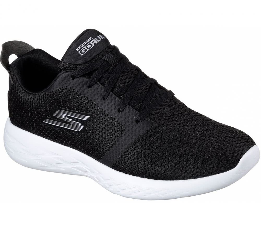 Skechers GOrun 600 Refine Running Shoe(Men's) -Charcoal