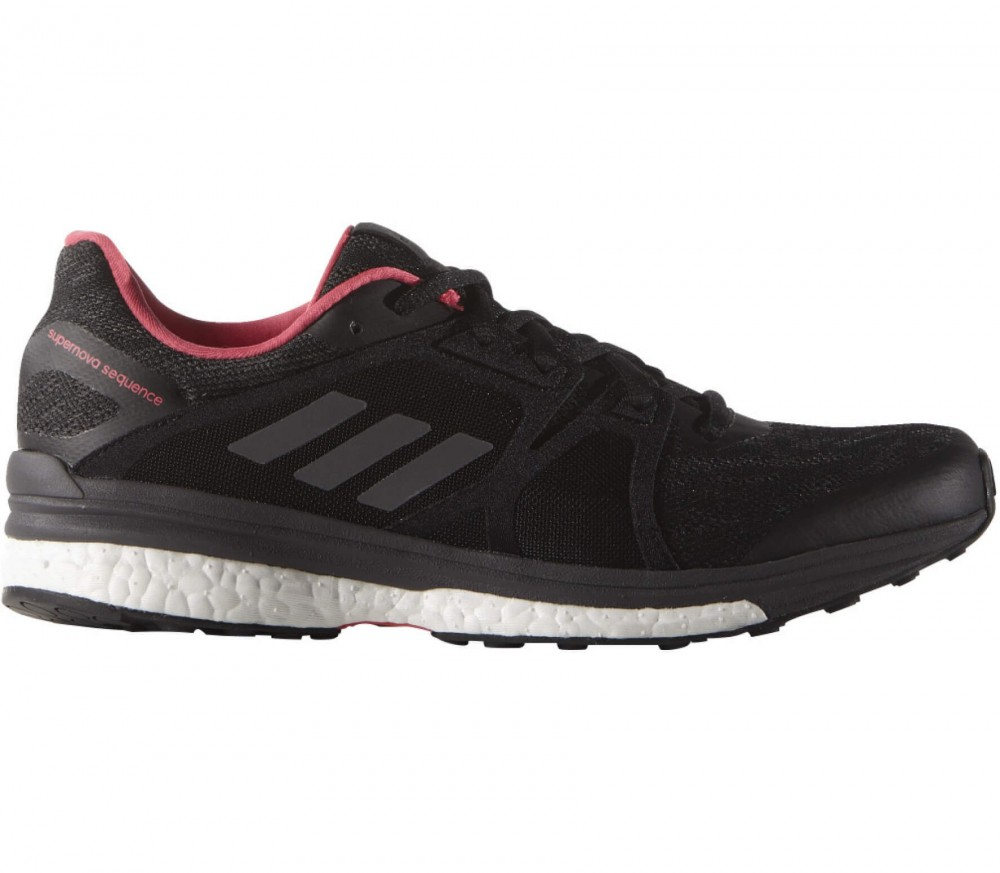Adidas - Supernova Sequence 9 women's running shoes (black/pink)