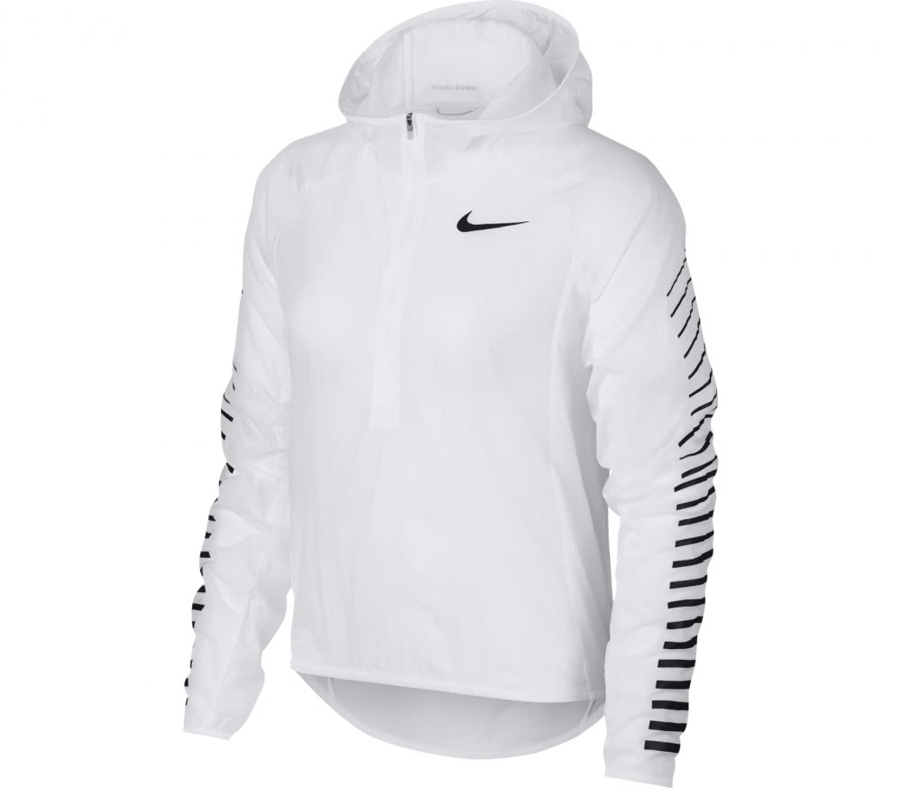 nike impossibly light women 39 s running jacket white buy it at the keller sports online shop. Black Bedroom Furniture Sets. Home Design Ideas