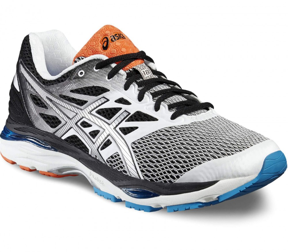 Asics - Gel-Cumulus 18 men's running shoes (white/silver)