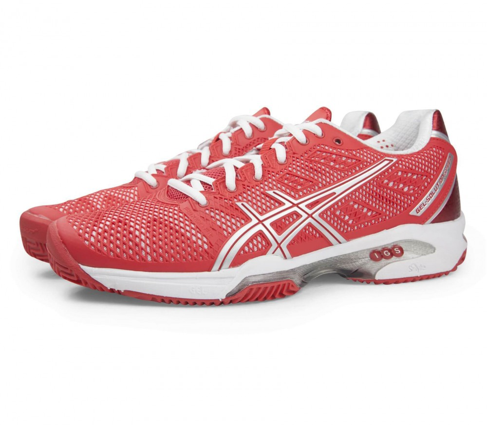 asics gel solution speed 2 clay women 39 s tennis shoe red buy it at the keller sports online. Black Bedroom Furniture Sets. Home Design Ideas