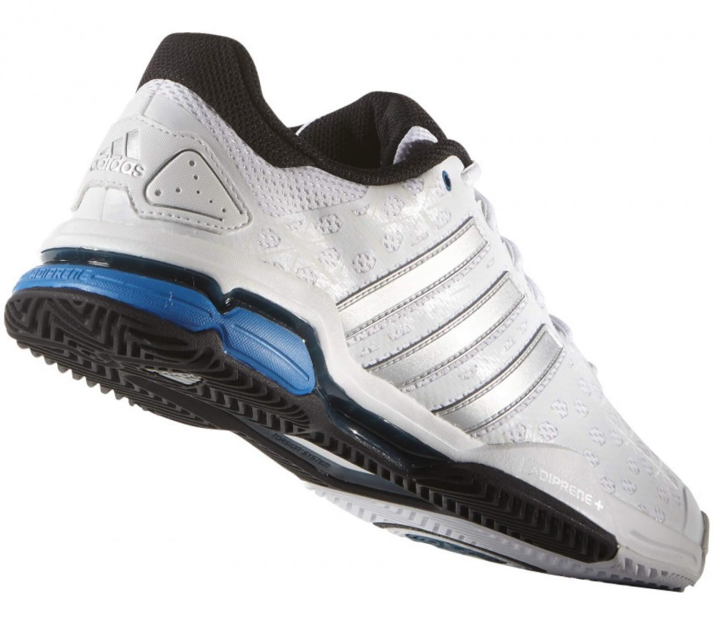 Adidas - Barricade Club men's tennis shoes (white/blue)