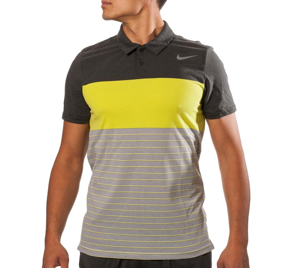 Nike As Dri-Fit Touch Stripe Polo
