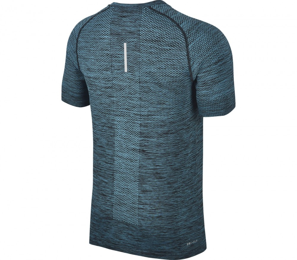 Nike - Dri-Fit Knit Shortsleeve men's running top (black)