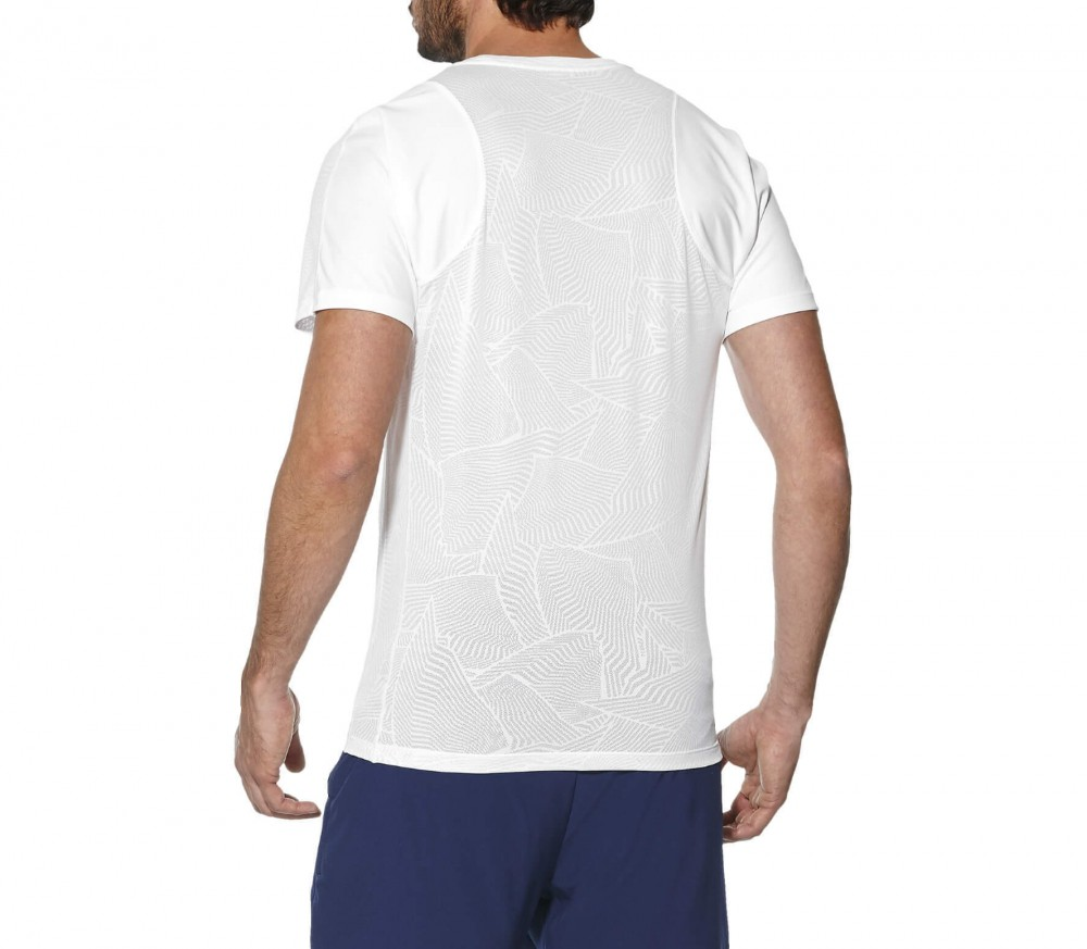 ASICS - Athlete Cooling men's tennis top (white)
