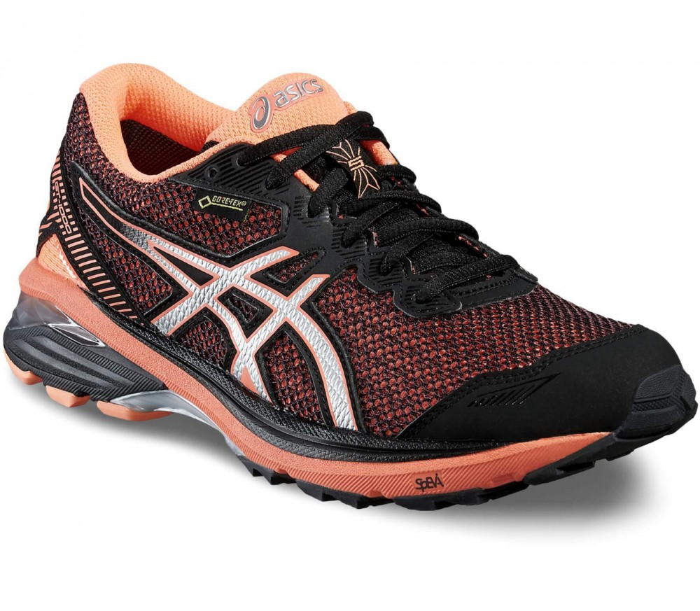 asics gt 1000 5 gtx women 39 s running shoes light red black buy it at the keller sports. Black Bedroom Furniture Sets. Home Design Ideas