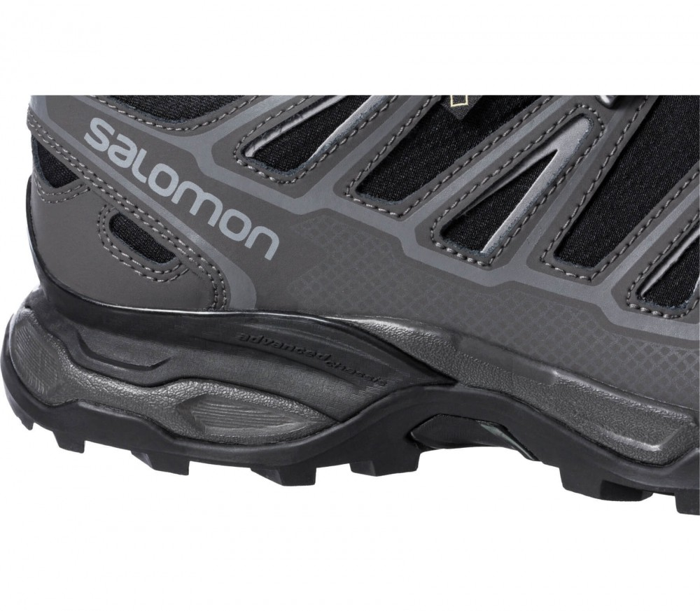 Salomon - X Ultra 2 GTX men's hiking shoes (black/dark grey)
