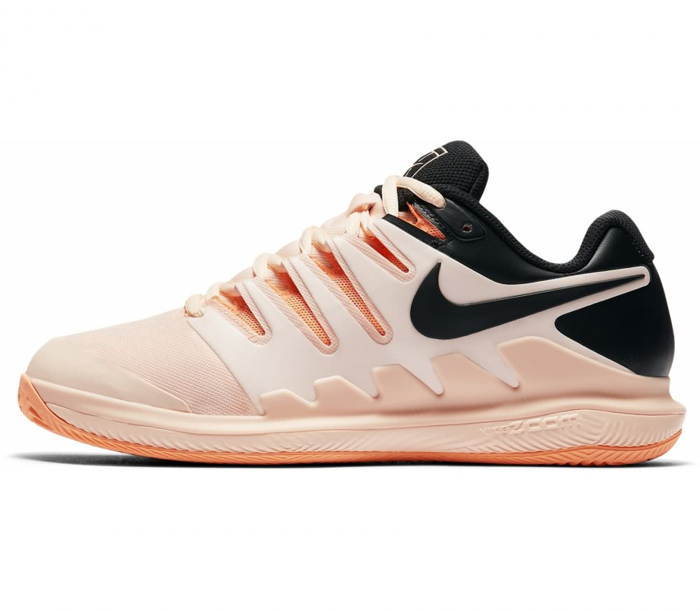 Nike - Air Zoom Vapor X Clay women's tennis shoes (hellorange/black)