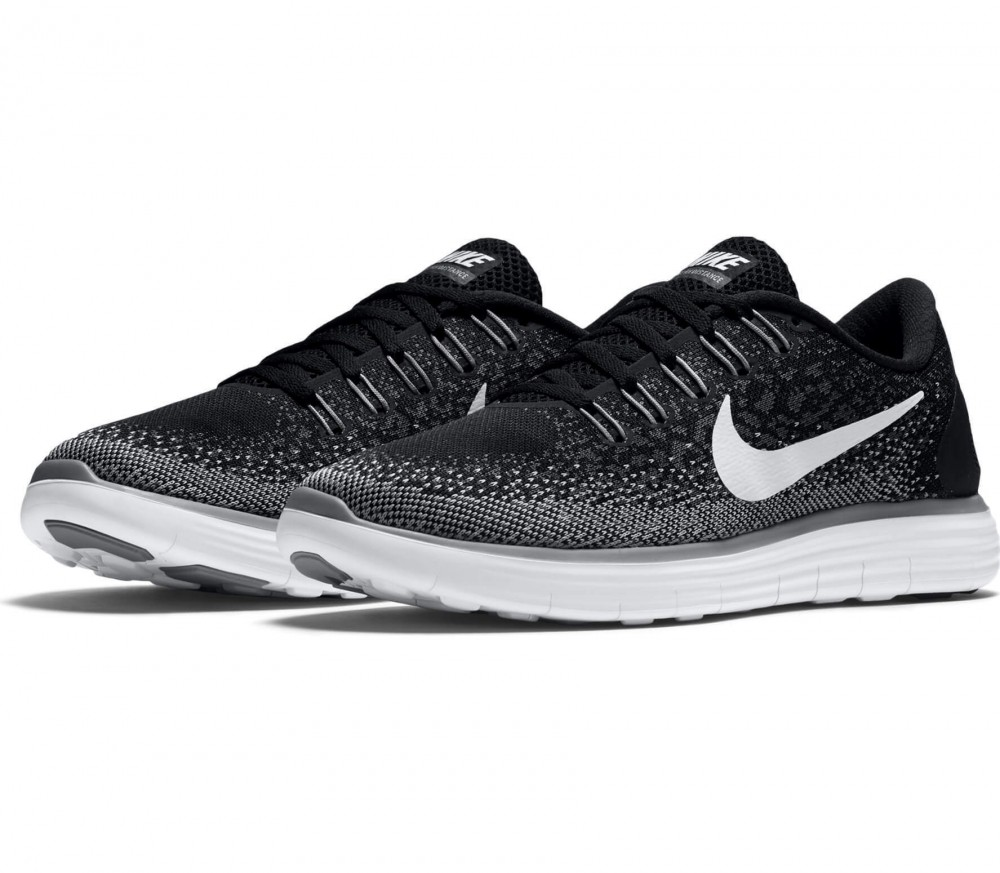Nike - Free RN Distance women's running shoes (black/grey)