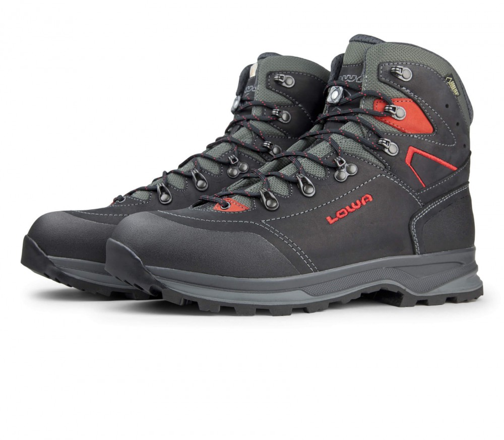 Lowa - Lavaredo GTX men's trekking shoes (black/red)