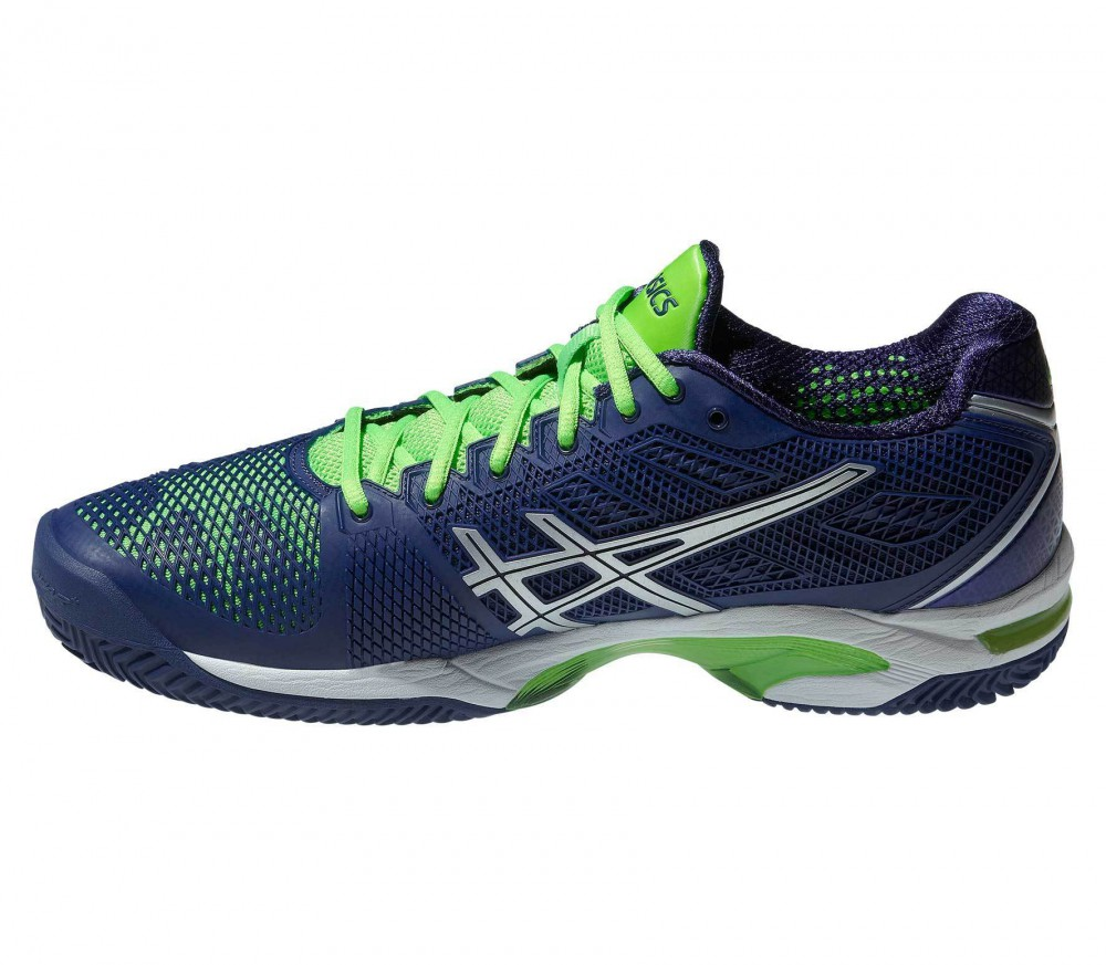 ASICS - Gel-Solution Speed 2 Clay men tennis shoes (blue/green)