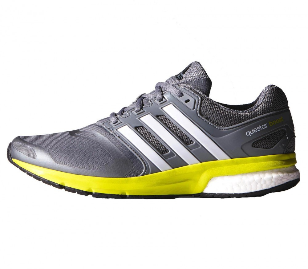 adidas questar boost tf men 39 s running shoes grey light. Black Bedroom Furniture Sets. Home Design Ideas