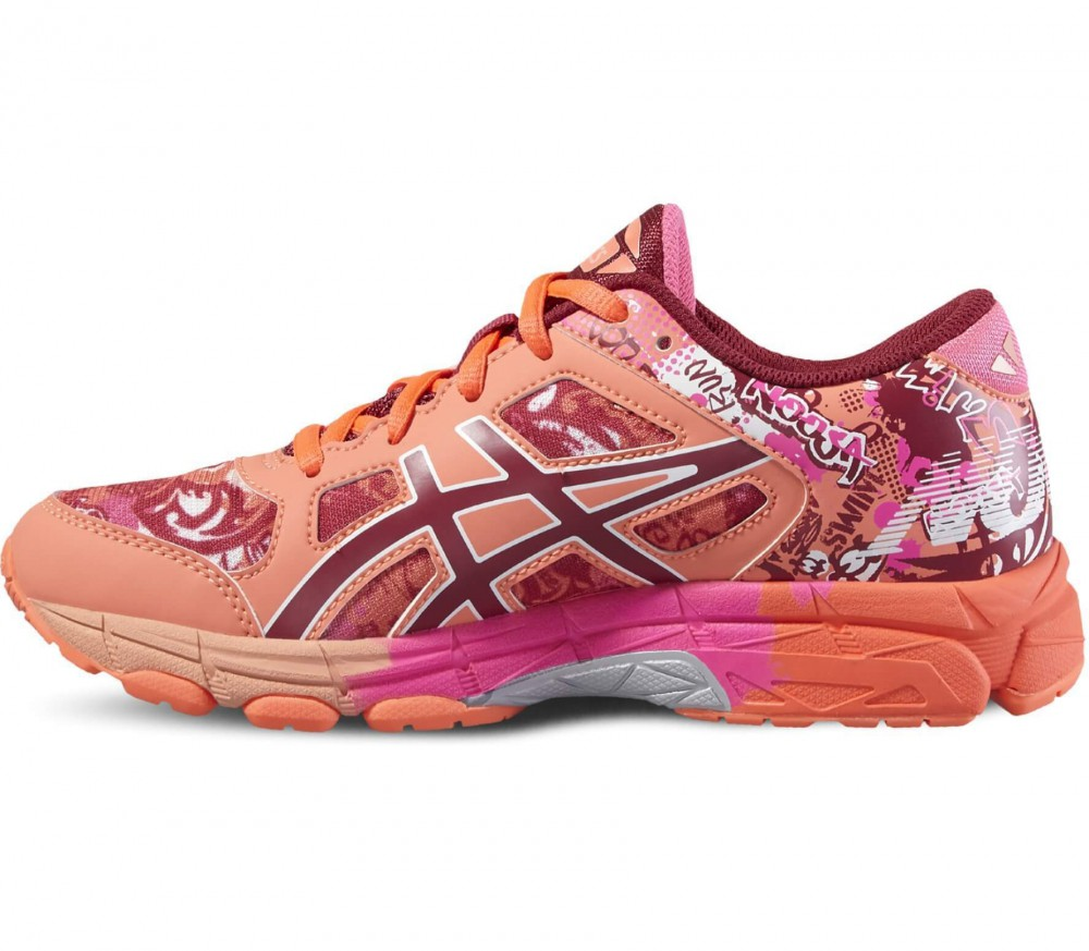 ASICS - Gel-Noosa Tri 11 GS junior running shoes (pink/light red)