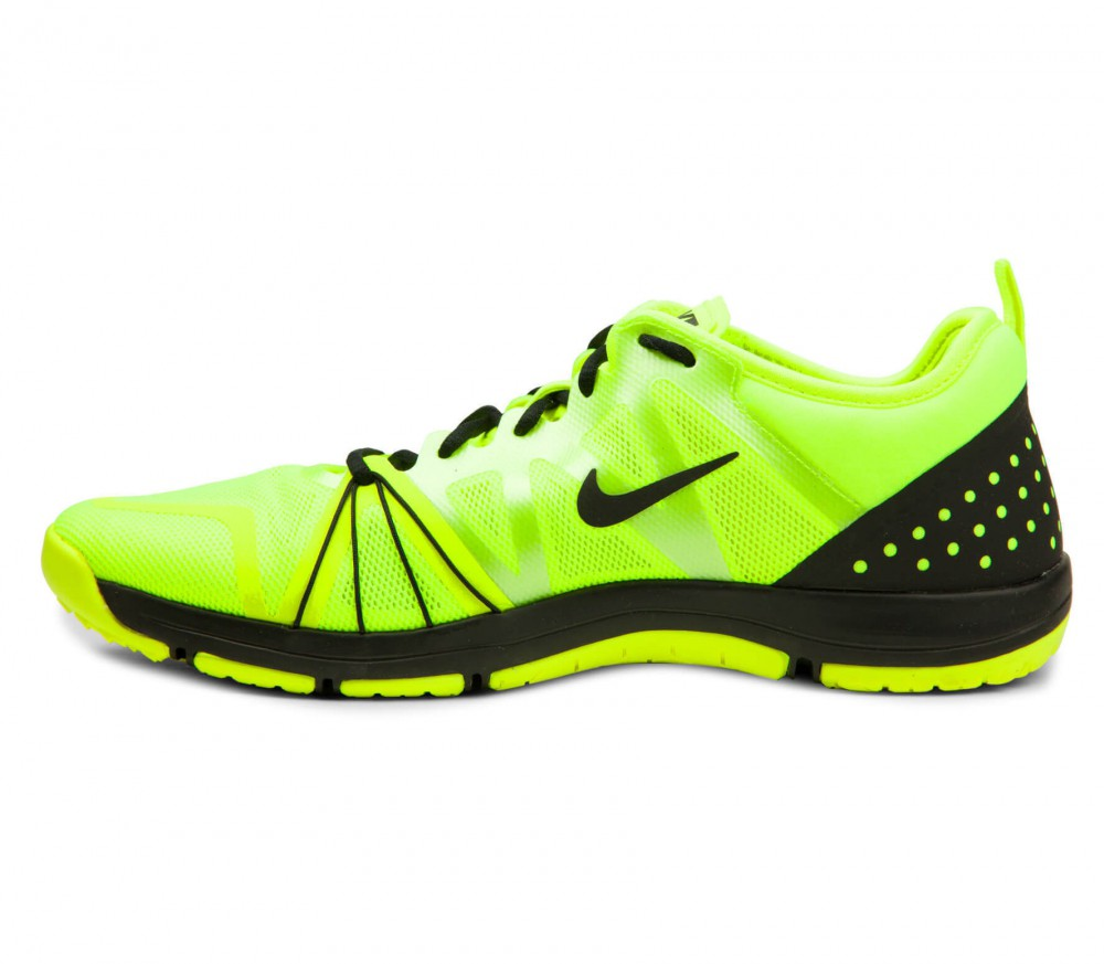 nike free cross compete womens yellow shoes