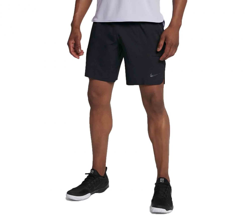 Nike - Roger Federer Court Flex Ace 9Inch men's tennis shorts (black)