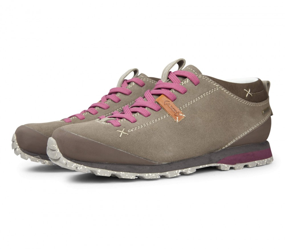 AKU - Bellamont Suede GTX women's hiking shoes (brown/pink)