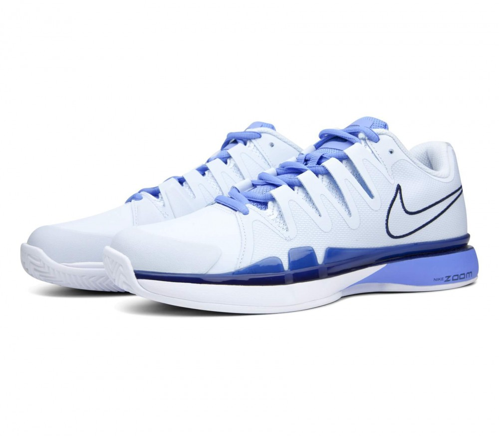 Nike - Air Zoom Vapor 9.5 Tour Clay women\u0027s tennis shoes (white/blue)