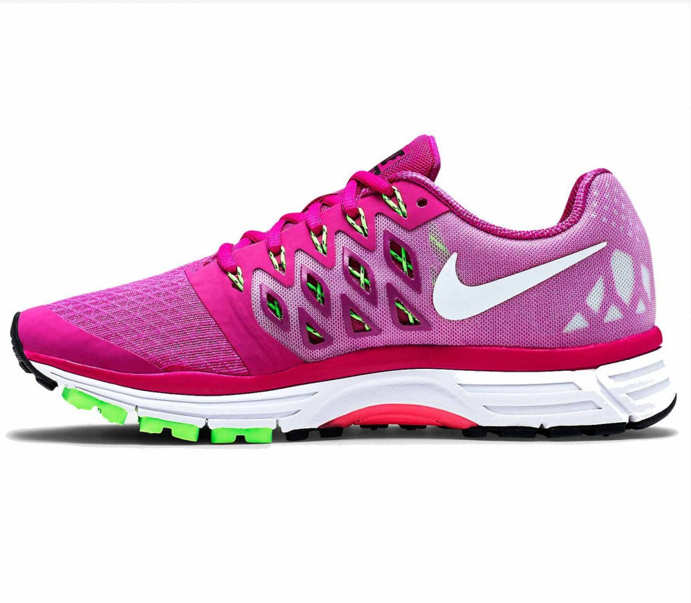 nike zoom vomero 9 women 39 s running shoes pink white buy it at the keller sports online shop. Black Bedroom Furniture Sets. Home Design Ideas