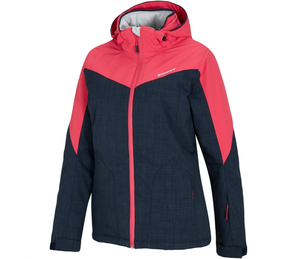 Ziener - Pamina women's skis jacket (blue-red)